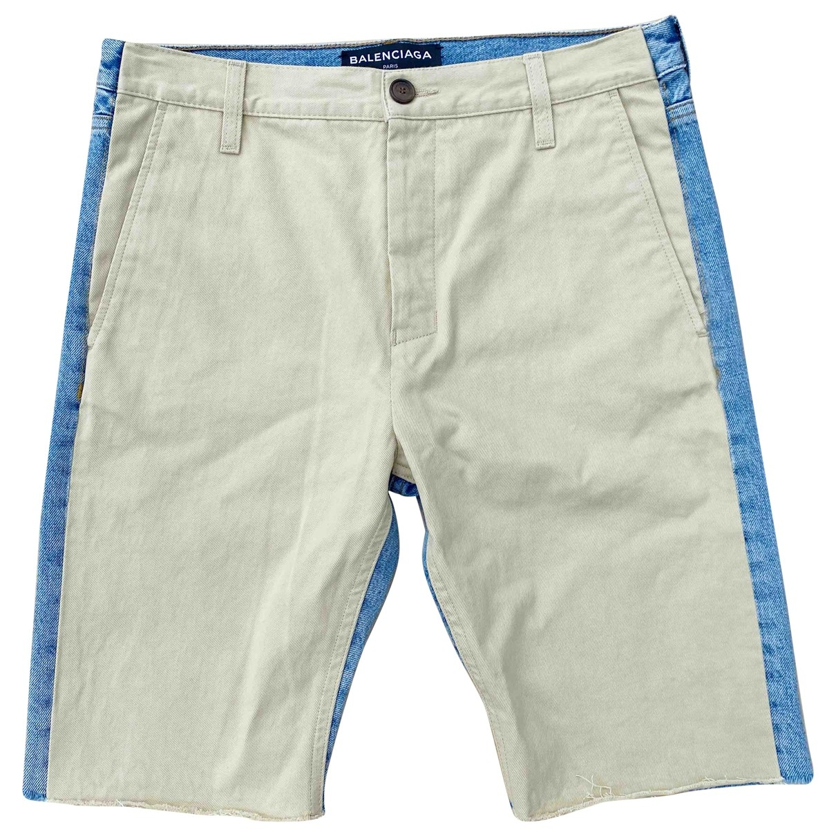 Balenciaga - Short   pour homme en denim - multicolore
