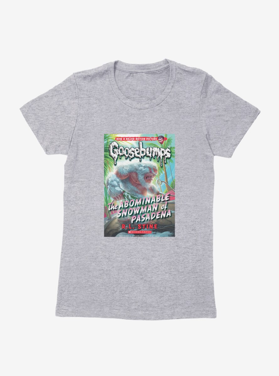 Goosebumps The Abominable Snowman Of Pasadena Book Womens T-Shirt
