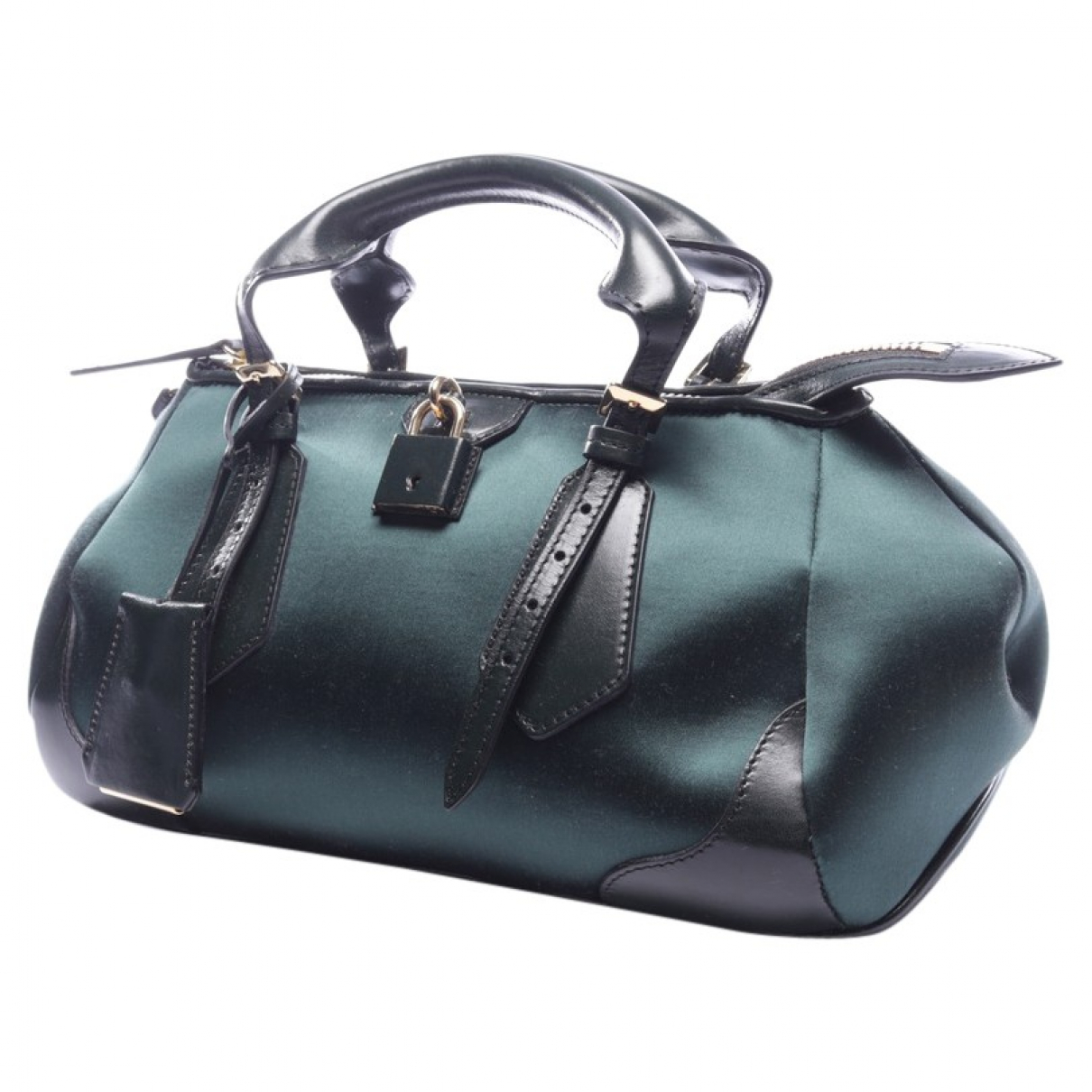 Burberry \N Green Leather handbag for Women \N