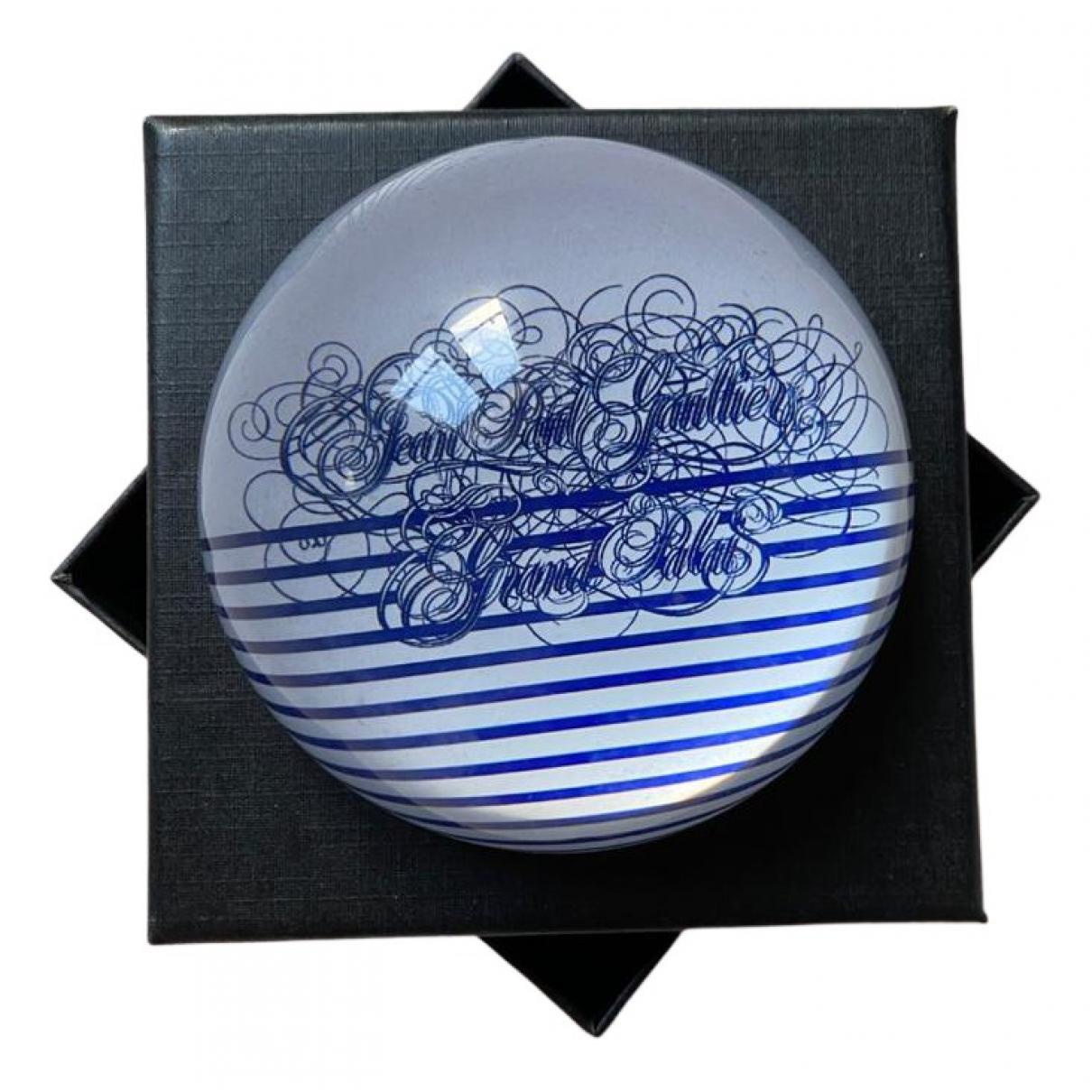 Jean Paul Gaultier - Objets & Deco   pour lifestyle en verre - bleu