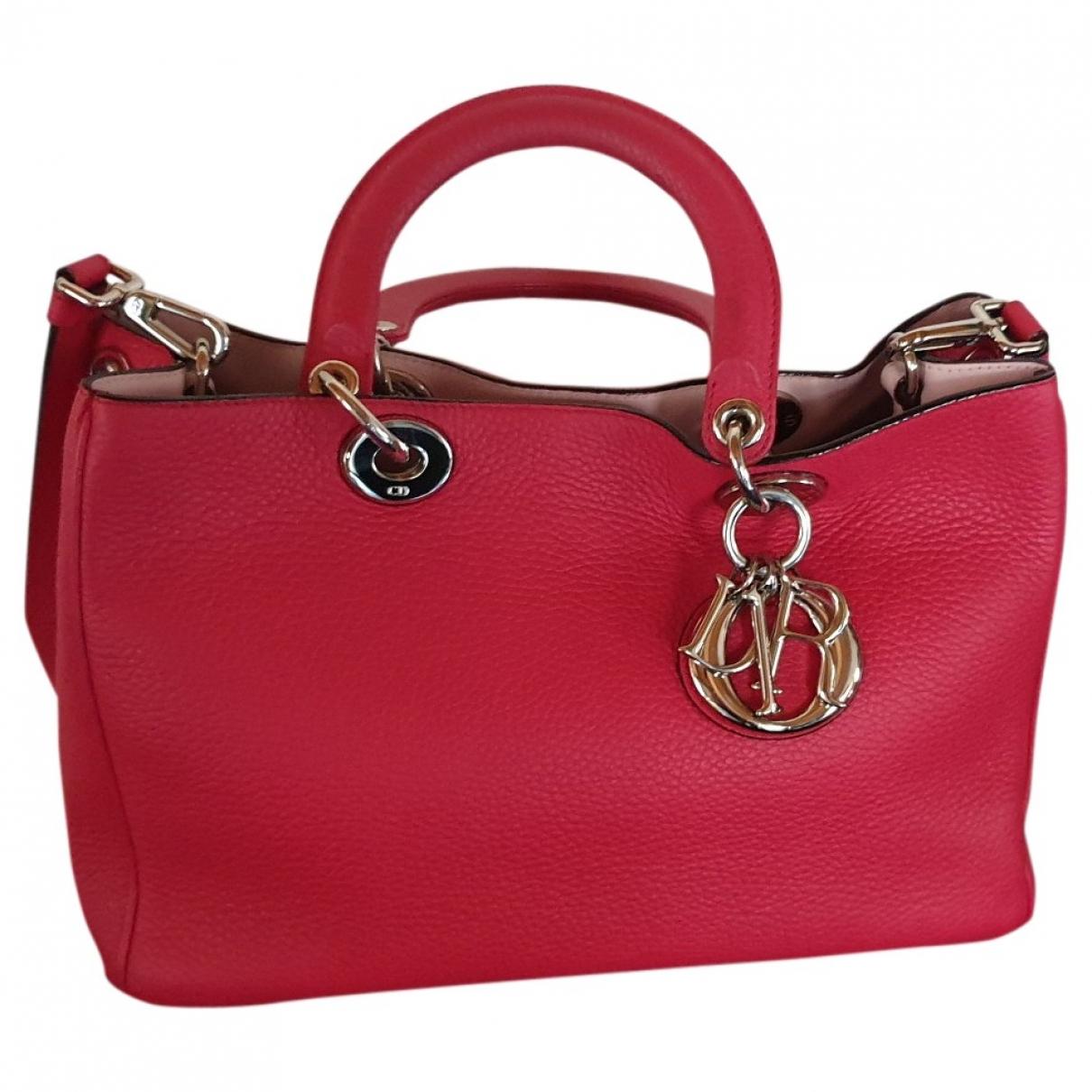 Dior Diorissimo Pink Leather handbag for Women \N