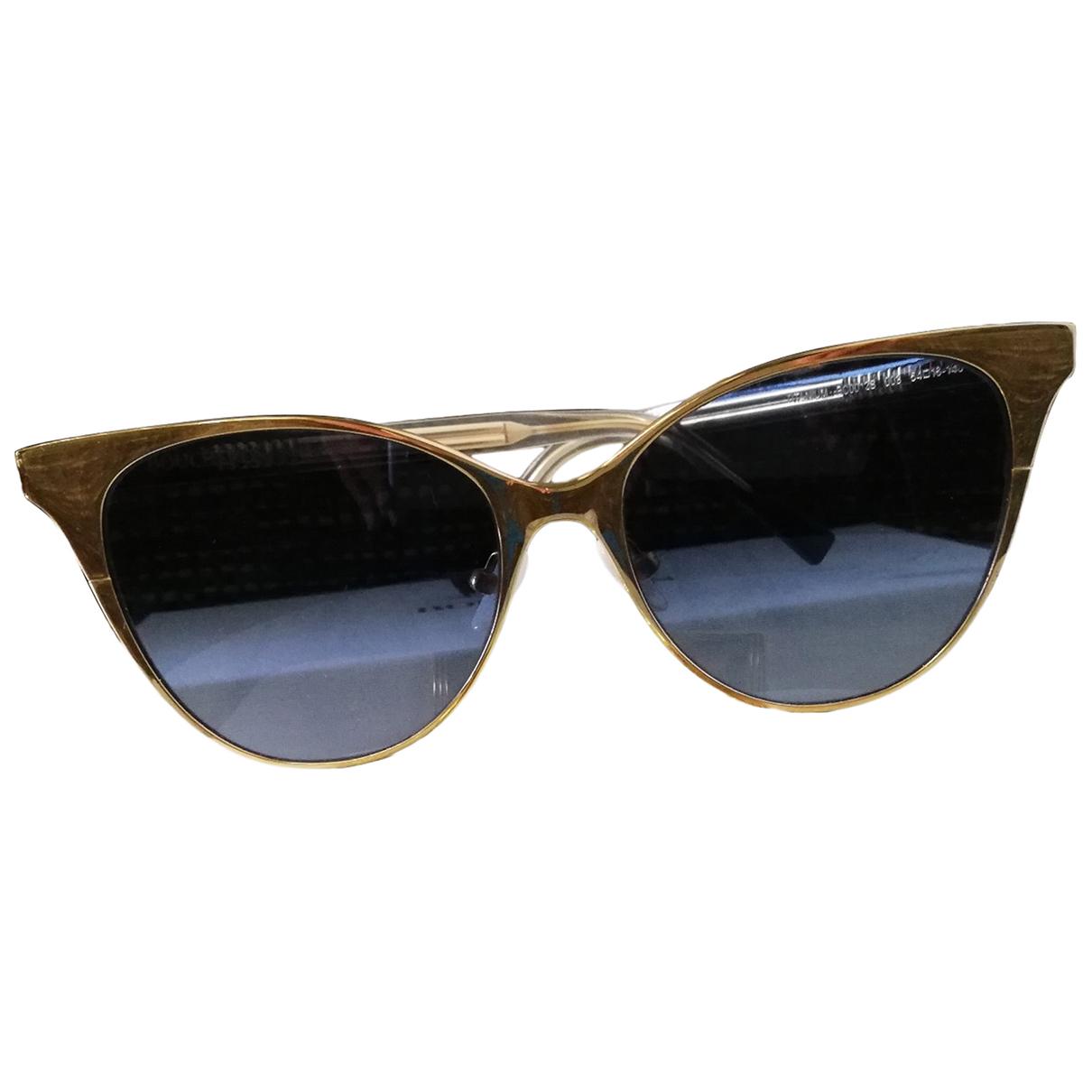 Boucheron \N Gold Metal Sunglasses for Women \N