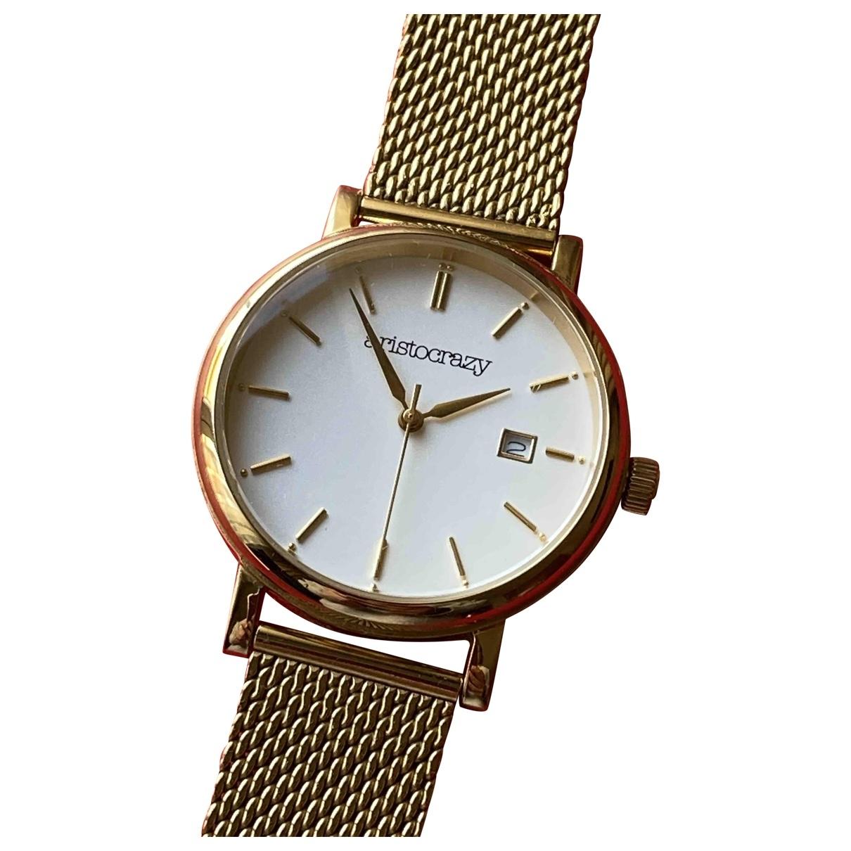 Aristocrazy \N Uhr in  Gold Stahl