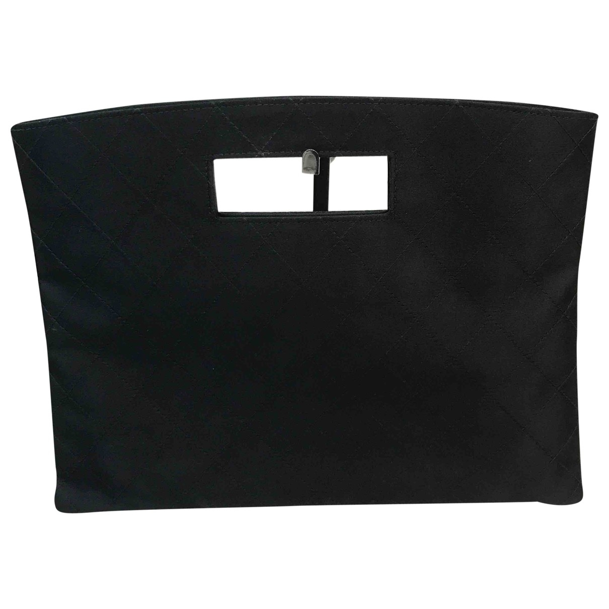 Chanel \N Black Silk Clutch bag for Women \N