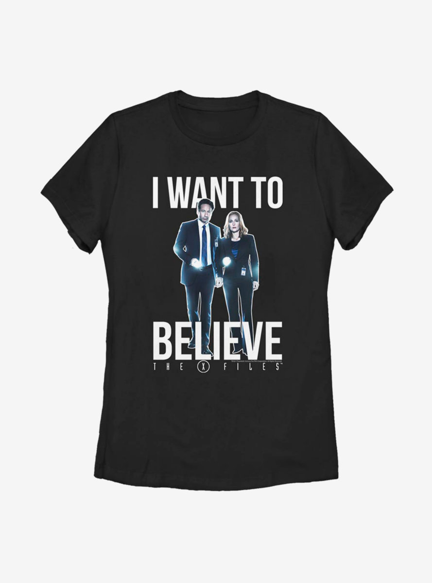 The X-Files I Want To Believe Womens T-Shirt