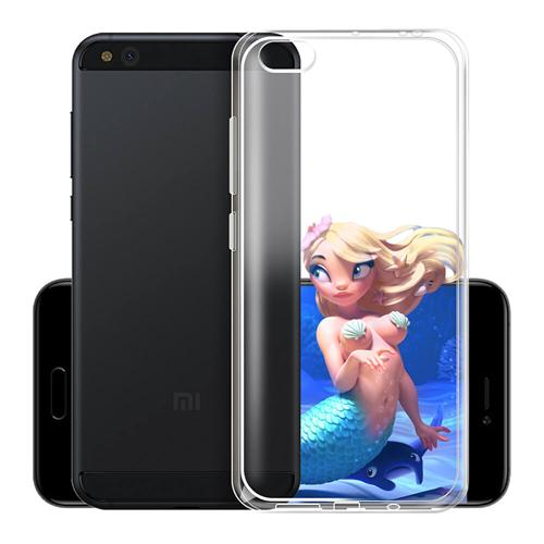 Transparent Xiaomi Mi6 Soft Case Silicon Back Cover High Quality Protective Phone Shell