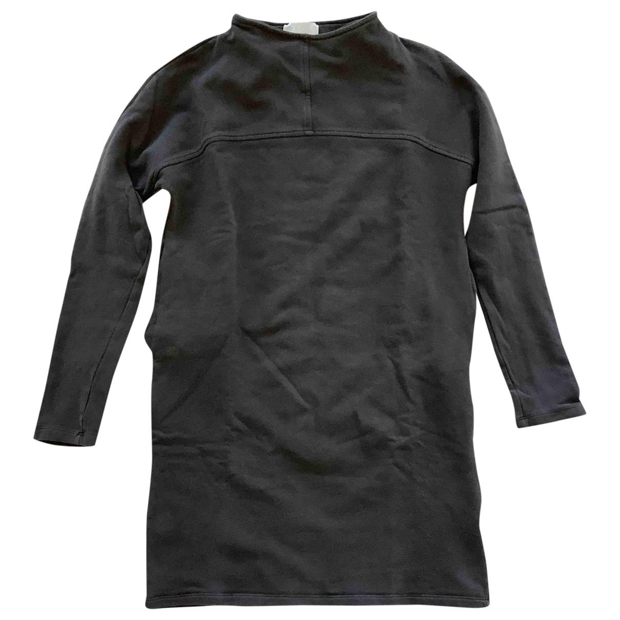 Douuod - Robe   pour femme en coton - elasthane - bleu