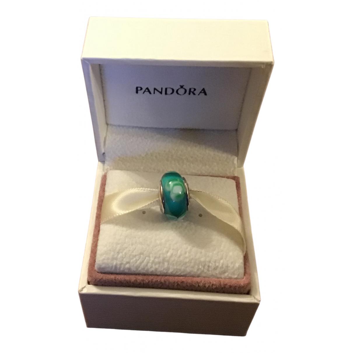 Pandora \N Anhaenger in  Tuerkis Glas