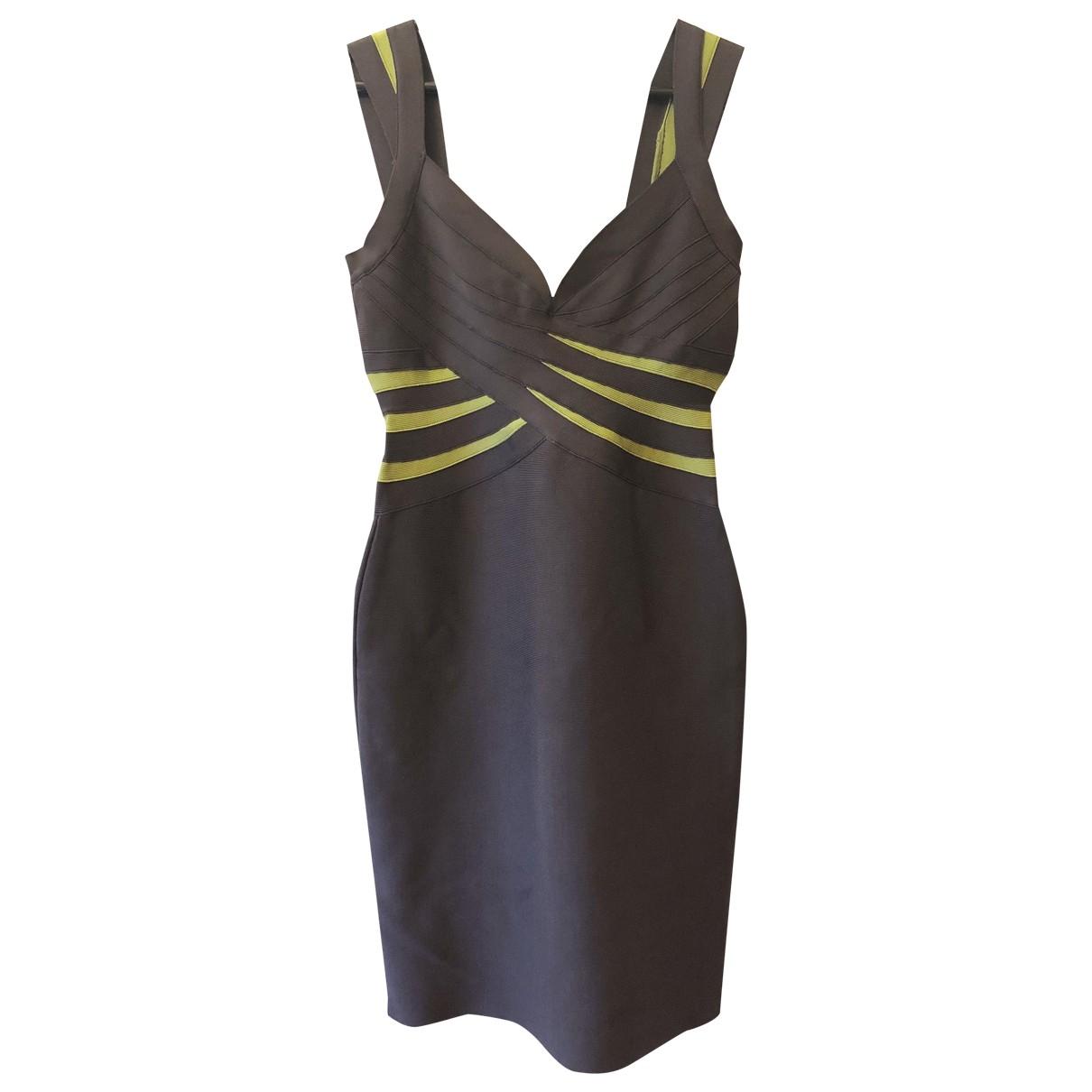 Herve Leger \N Grey dress for Women M International