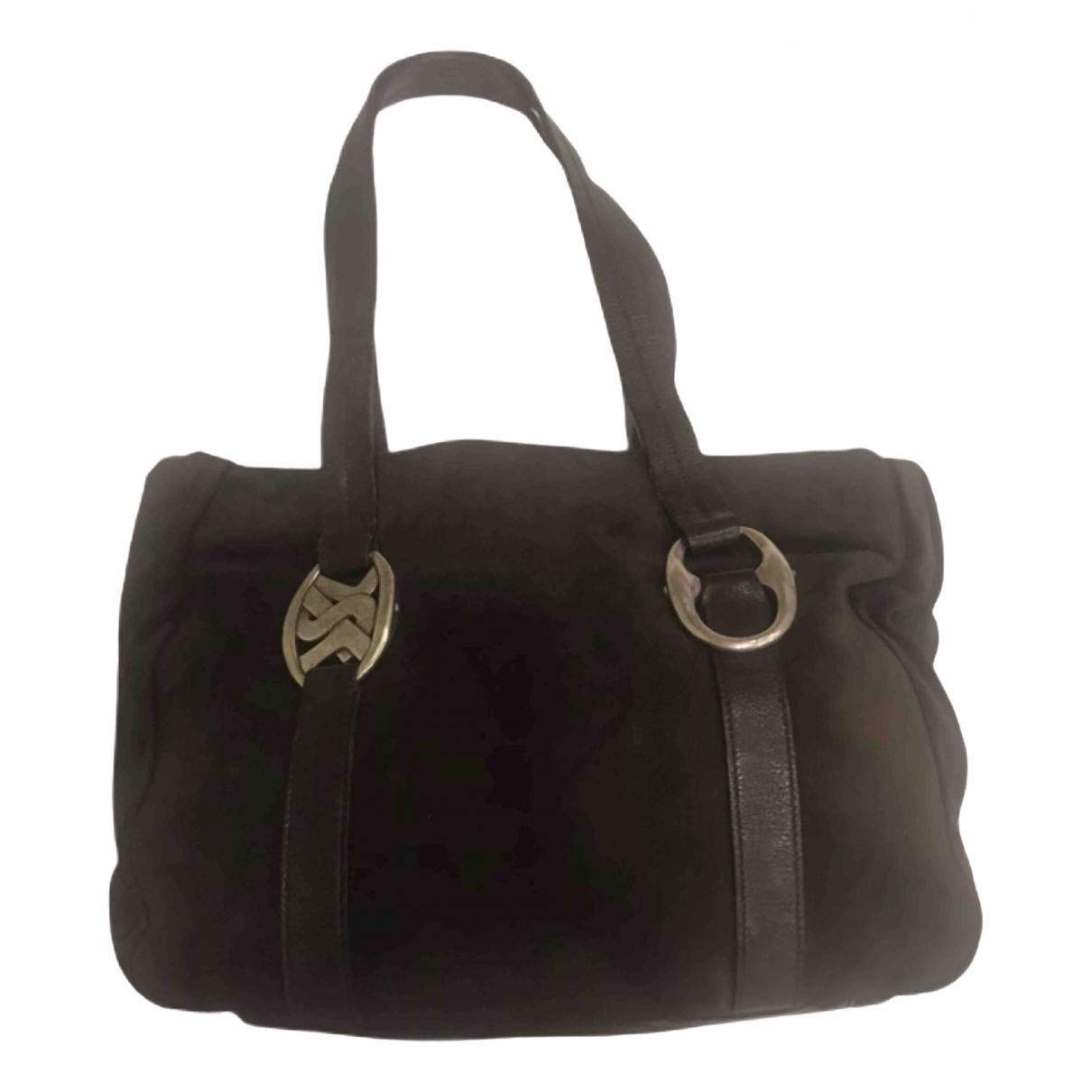Yves Saint Laurent \N Brown Suede handbag for Women \N