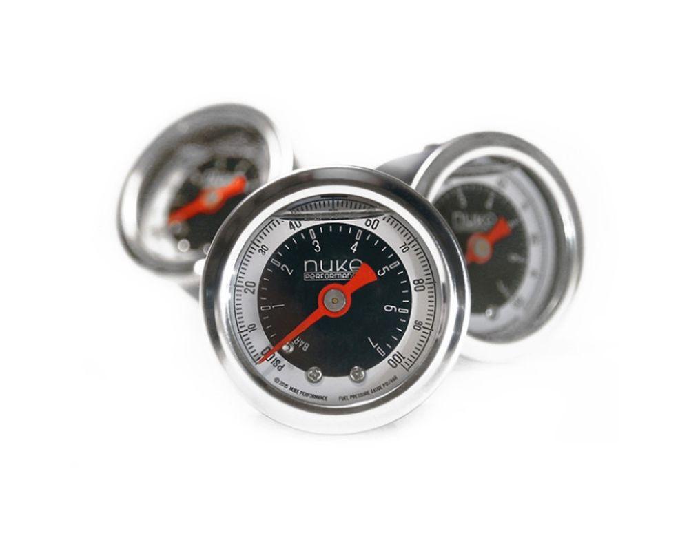 Nuke Performance 310-01-101 Fuel Pressure Gauge