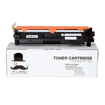 Compatible HP LaserJet Pro M203DN Black Toner Cartridge With Chip High Yield - Moustache