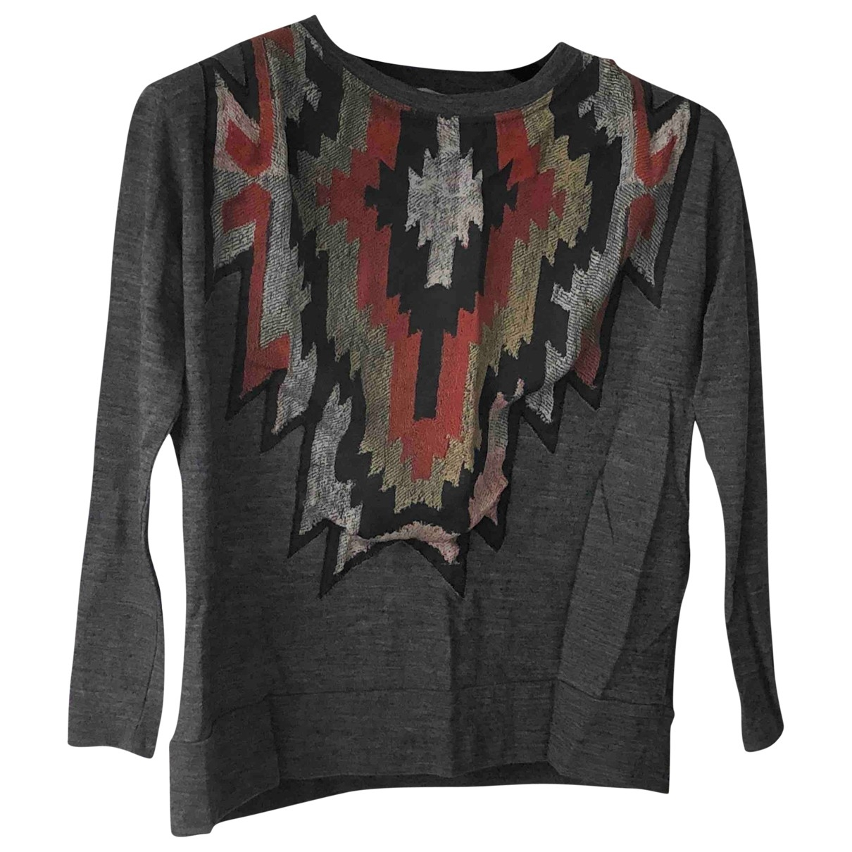 Sandro \N Anthracite Cotton Knitwear for Women 34 FR