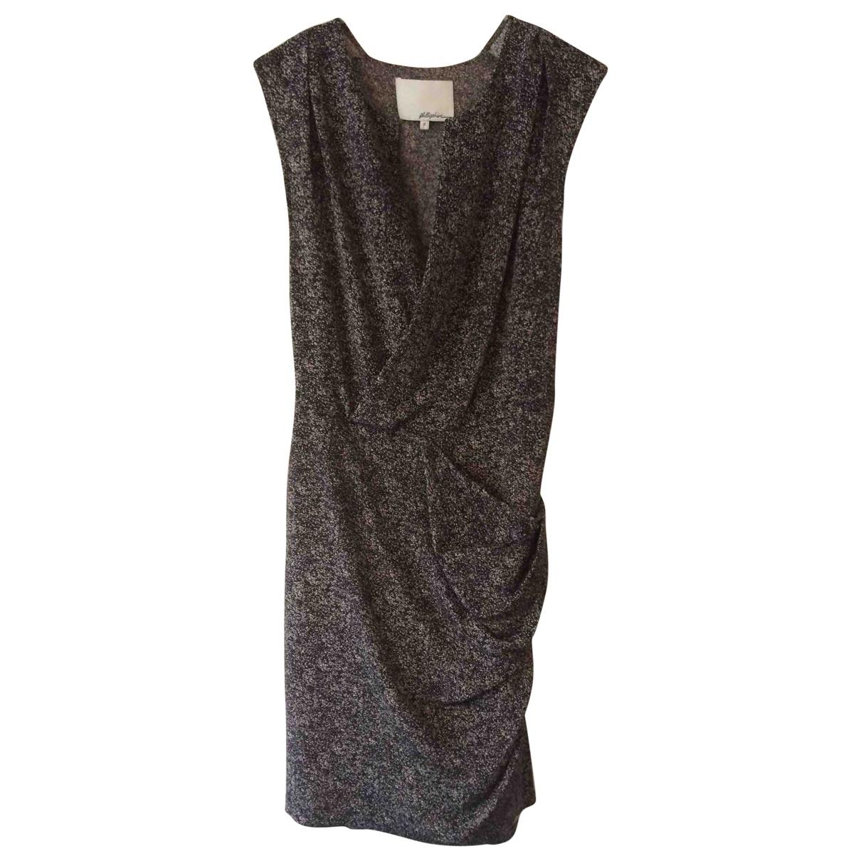 3.1 Phillip Lim \N Anthracite Silk dress for Women 34 FR