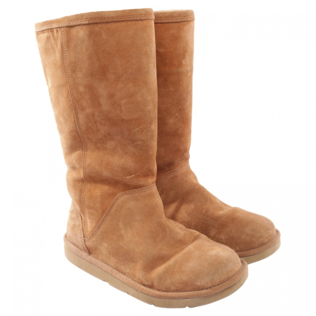 Ugg \N Beige Leather Boots for Women 41 EU