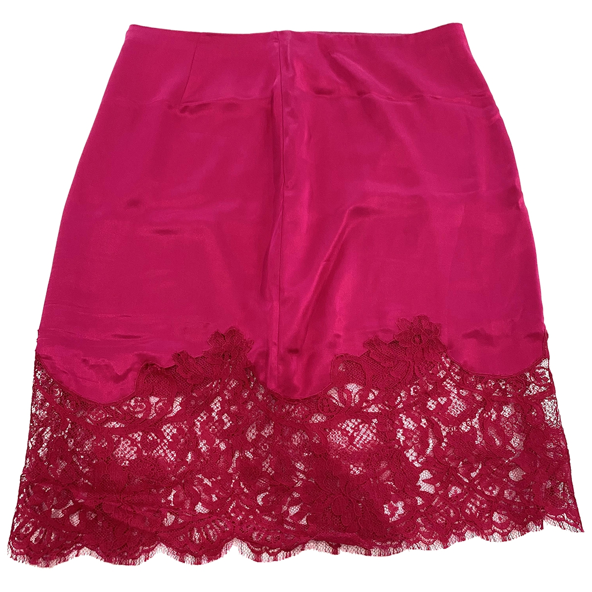 Givenchy \N Pink Silk skirt for Women 40 FR