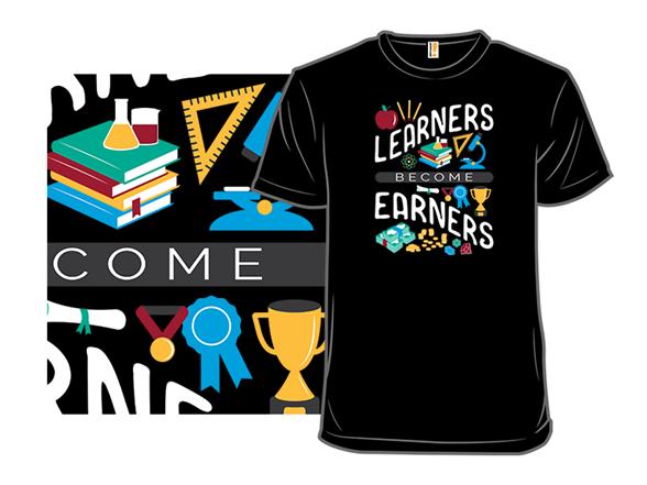 Learners Become Earners Crewneck Sweatshirt