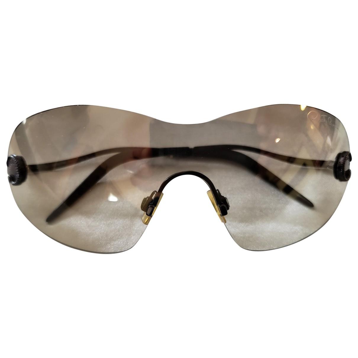 Roberto Cavalli \N Sonnenbrillen in  Braun Kunststoff