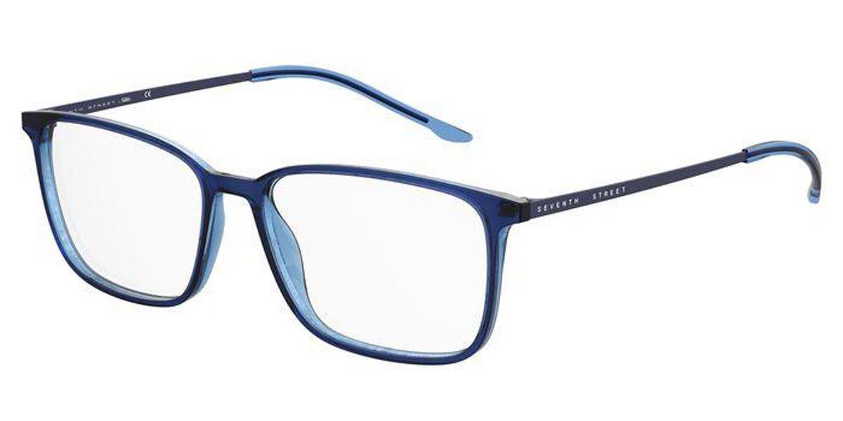 Seventh Street 7A061 ZX9 Men's Glasses Blue Size 55 - Free Lenses - HSA/FSA Insurance - Blue Light Block Available