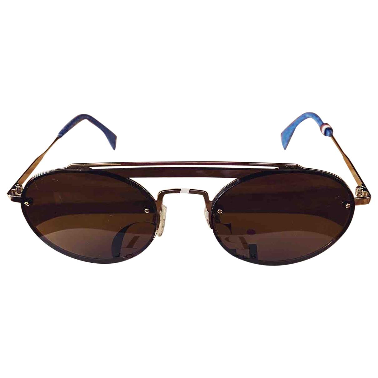 Tommy Hilfiger \N Gold Metal Sunglasses for Women \N