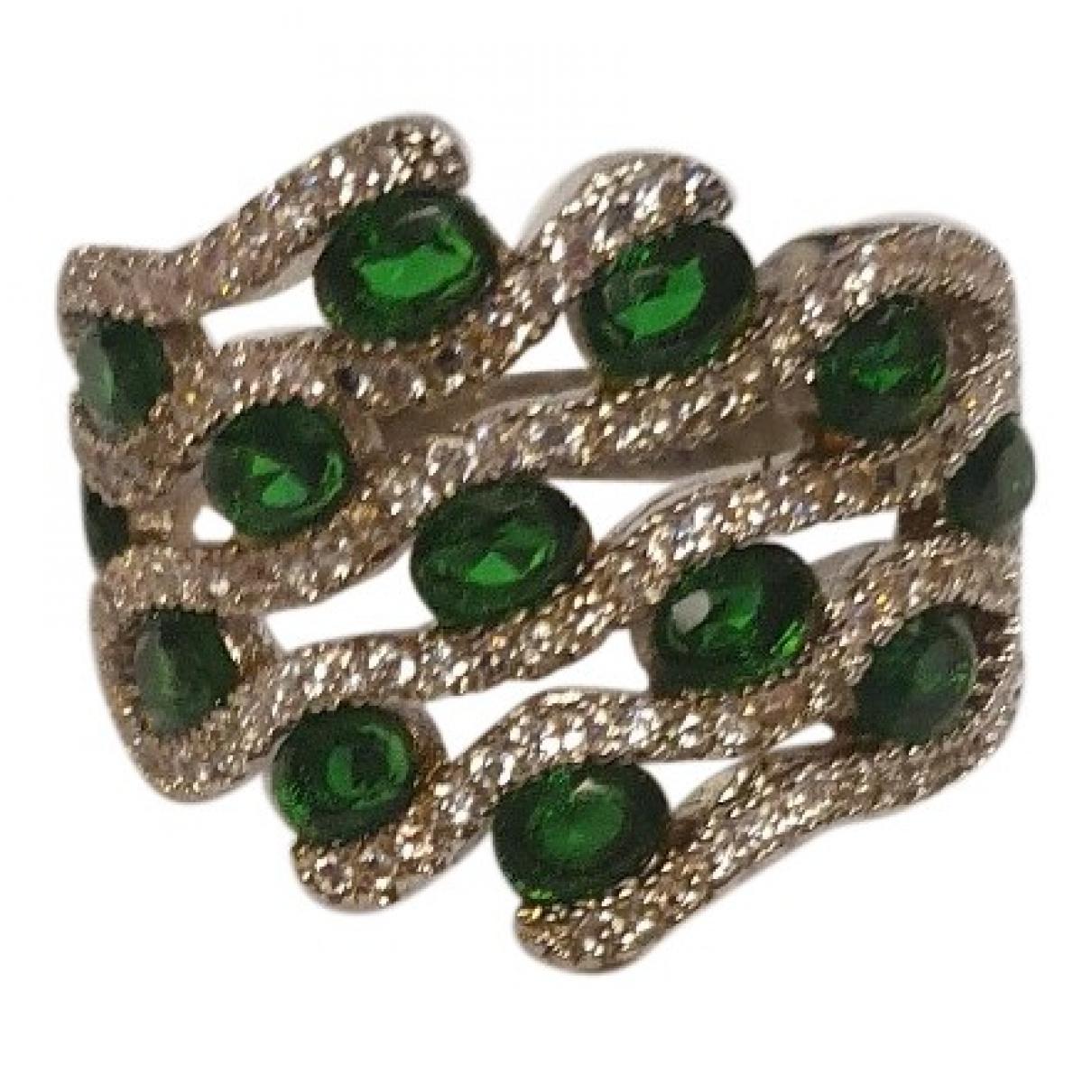 - Bague Emeraude pour femme en argent - vert