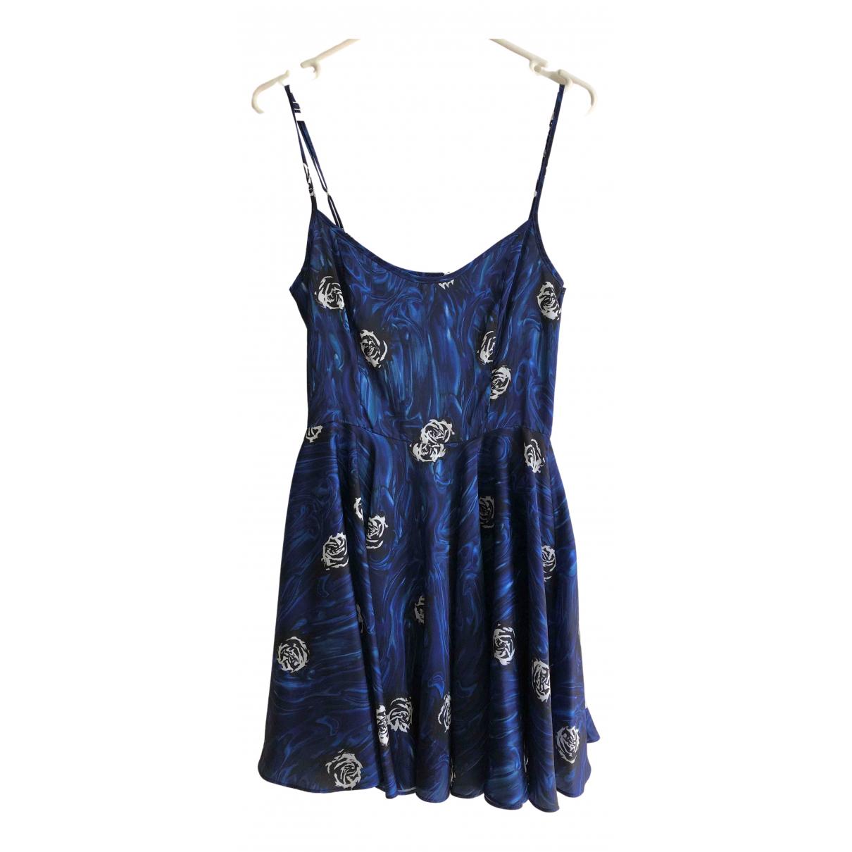 Opening Ceremony \N Kleid in  Blau Polyester