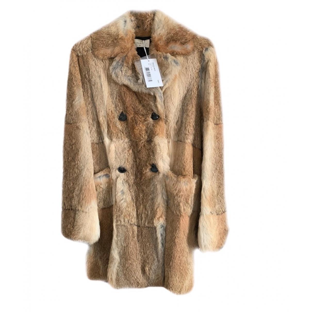 Ba&sh Spring Summer 2020 Beige Rabbit coat for Women 38 FR
