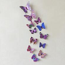 12pcs 3D Butterfly Wall Sticker