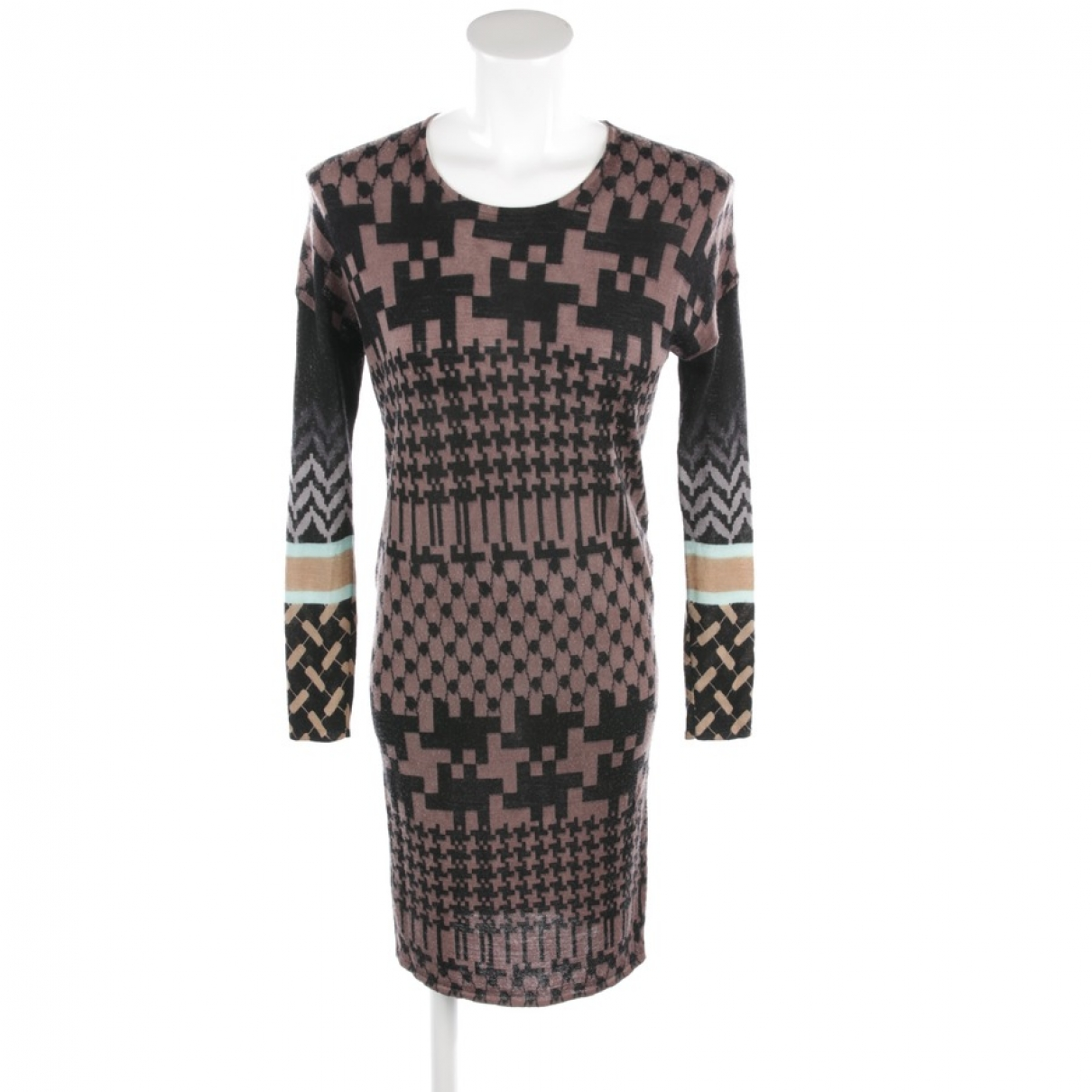 Lala Berlin \N Kleid in  Bunt Wolle
