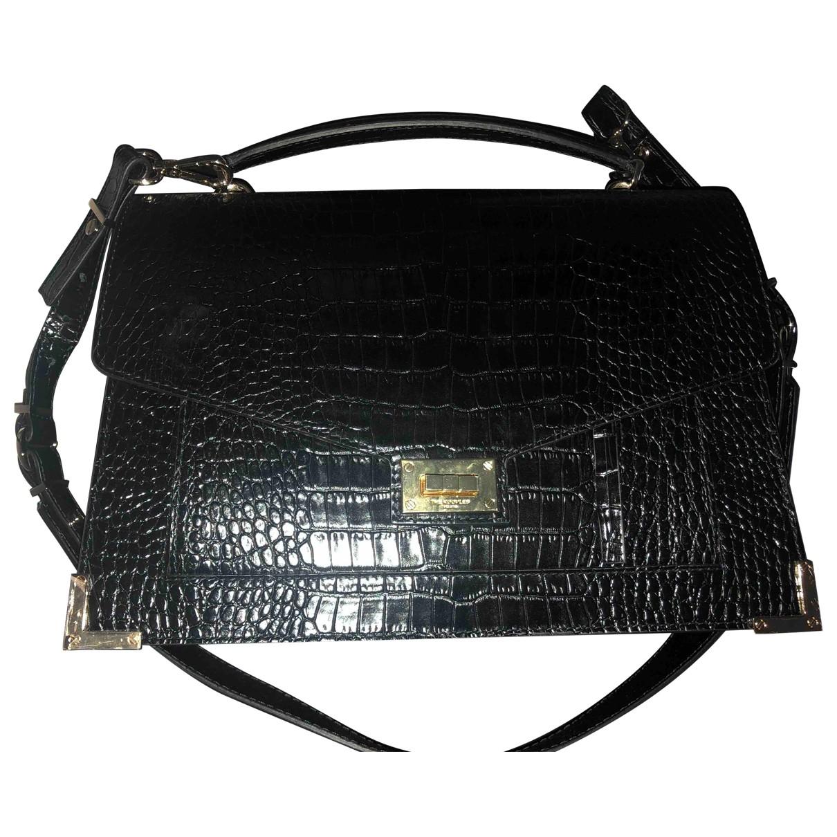The Kooples Emily Black Leather handbag for Women \N