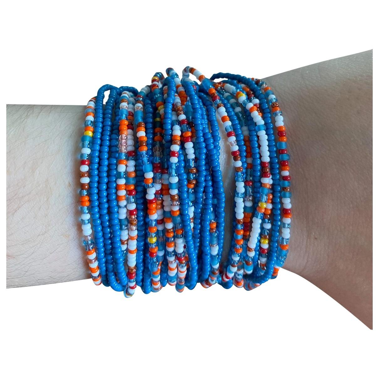 Chan Luu \N Armband in  Blau Kunststoff