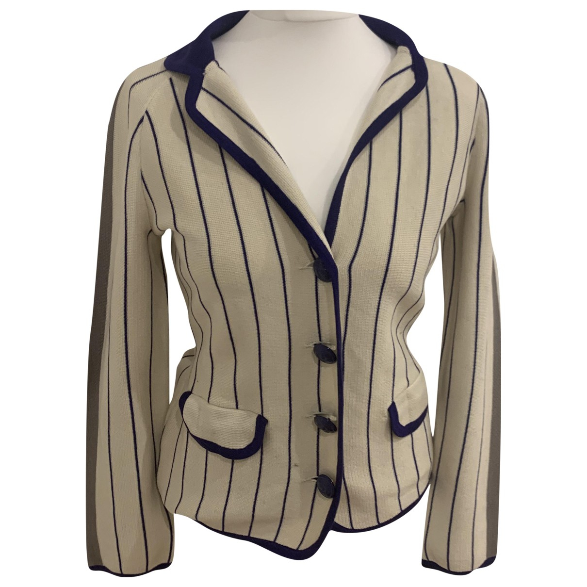 Alberta Ferretti N Multicolour Wool jacket for Women 40 IT