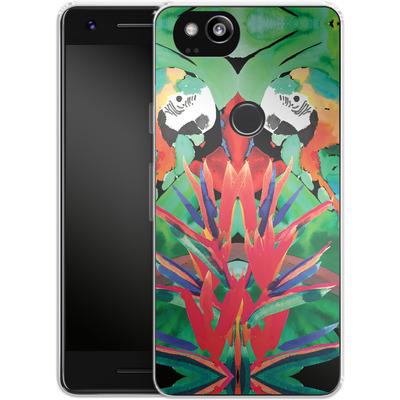 Google Pixel 2 Silikon Handyhuelle - Parrot von Amy Sia