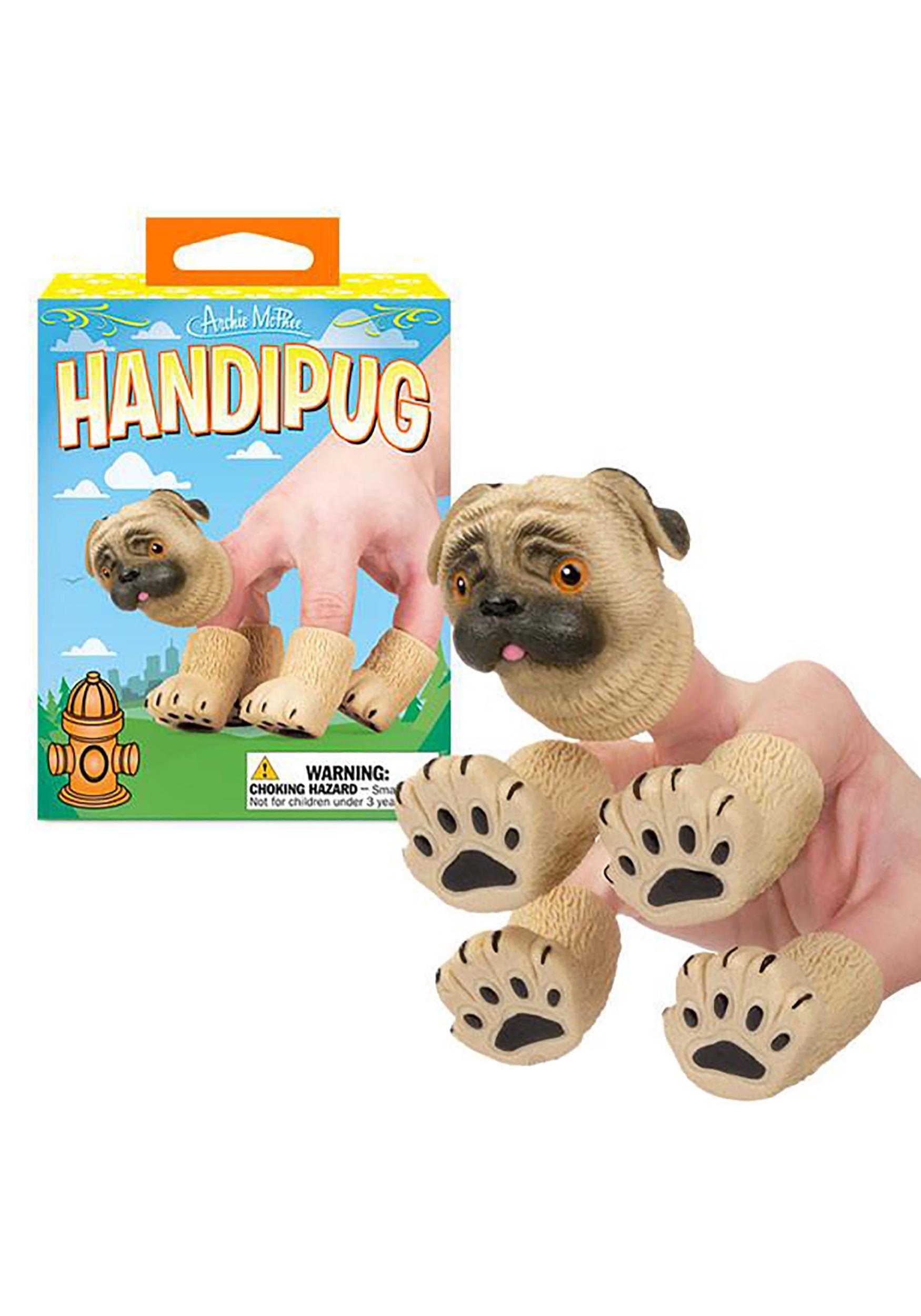 Handipug The Pug Hand Puppet