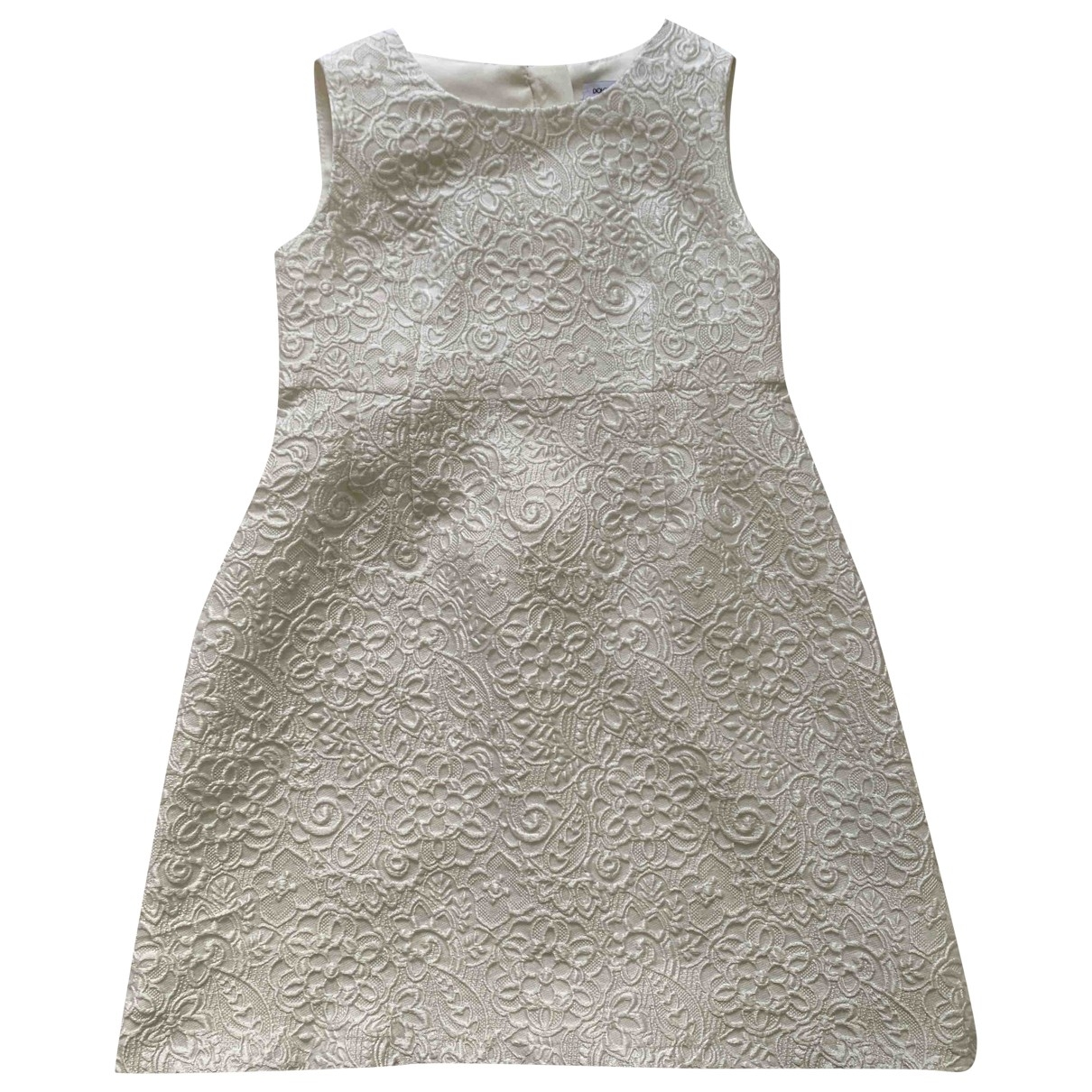 Dolce & Gabbana \N White Silk dress for Kids 4 years - until 40 inches UK