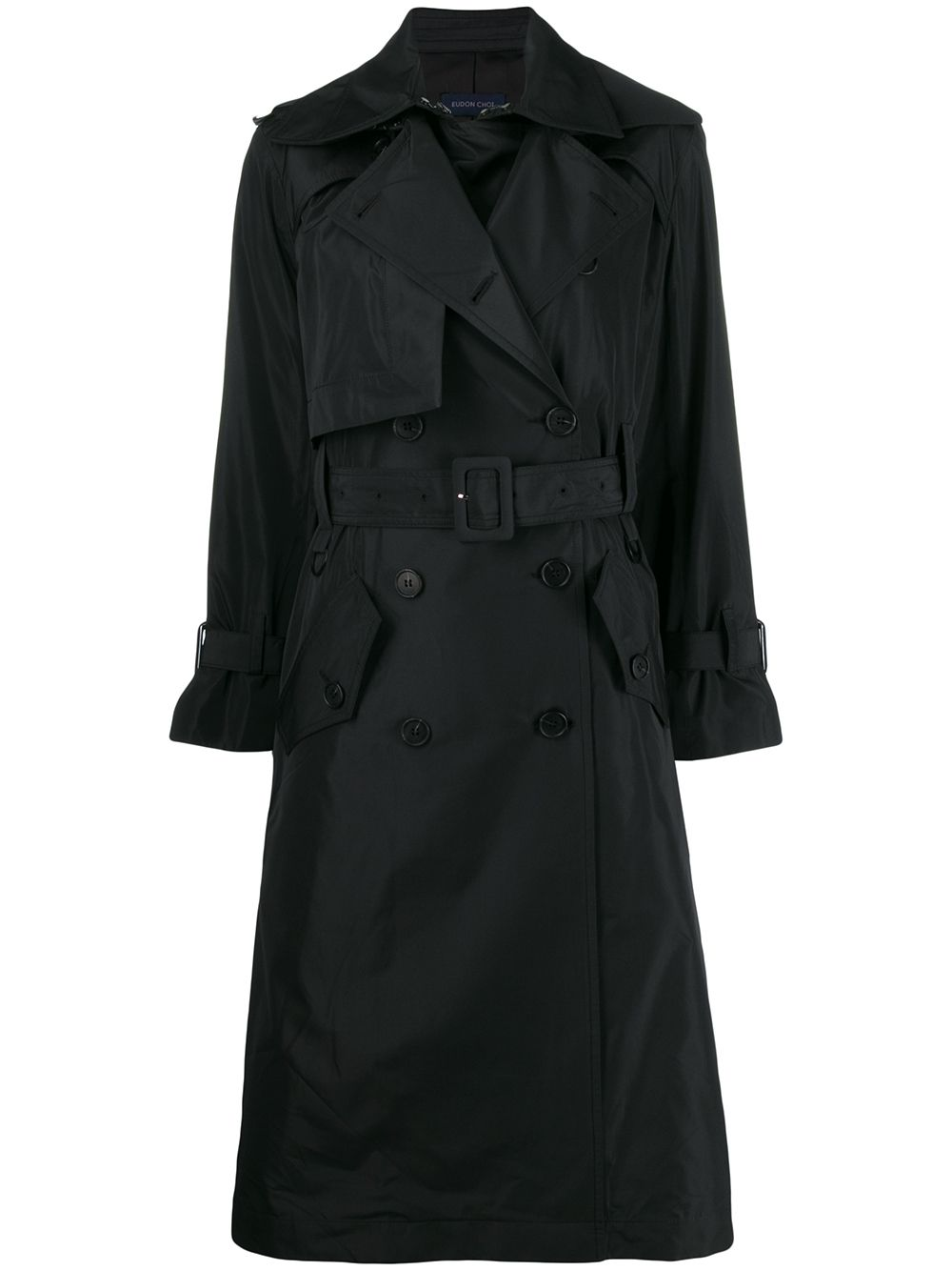 Ray Blend Wool Trench