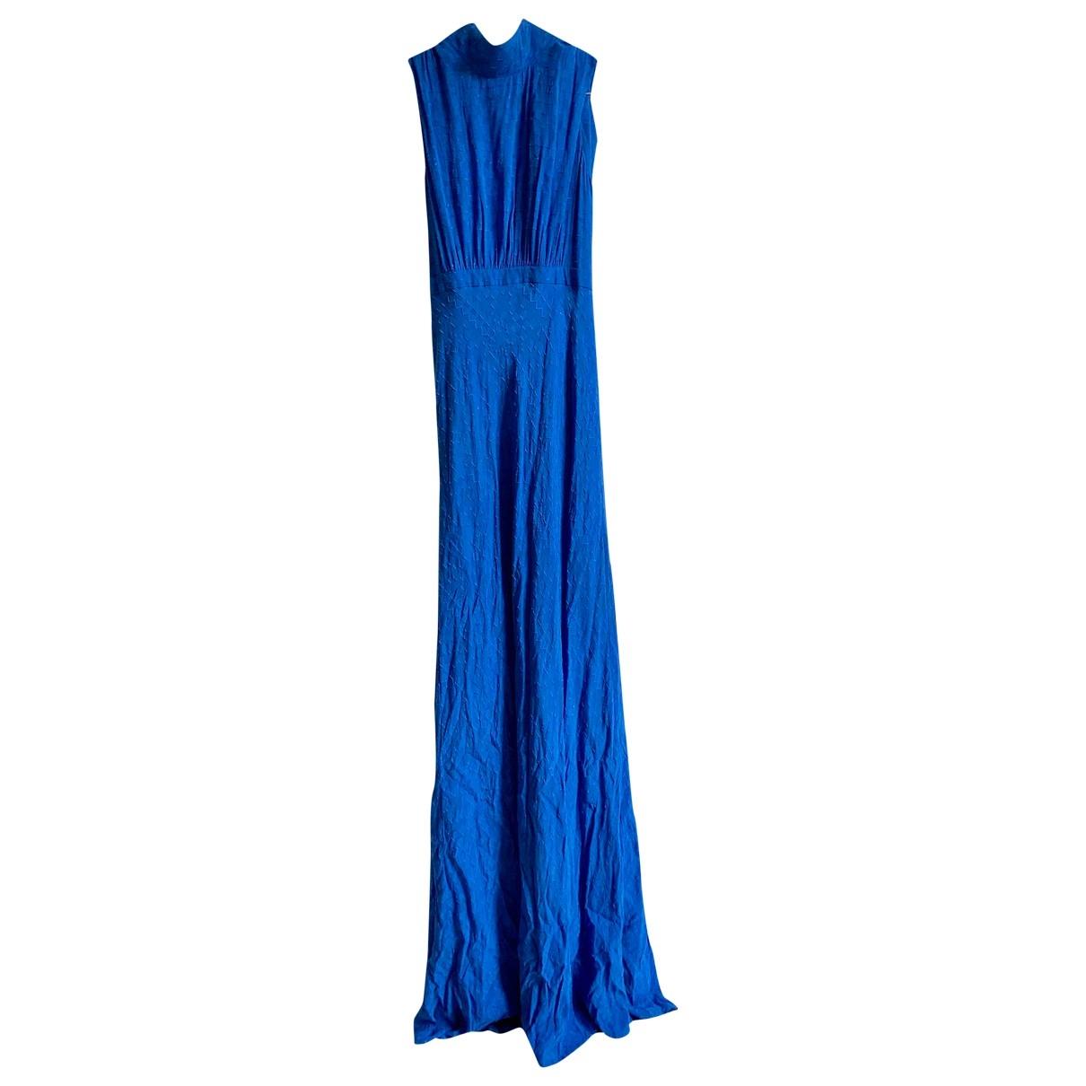 Maxi vestido de Seda Saloni