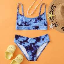 Maedchen Bikini Badeanzug