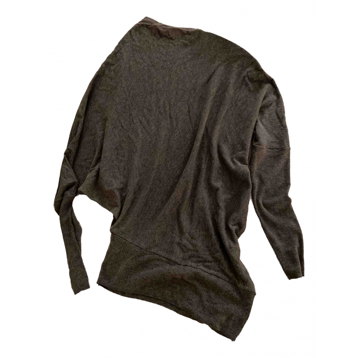 Non Signé / Unsigned \N Grey Wool Knitwear for Women S International