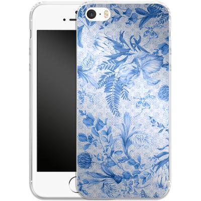 Apple iPhone SE Silikon Handyhuelle - Santorini Breeze von Stephanie Breeze