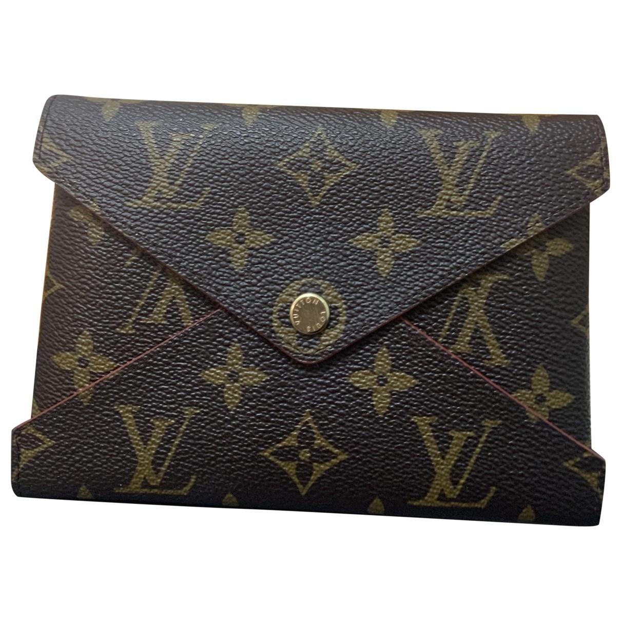 Louis Vuitton - Petite maroquinerie Kirigami pour femme en cuir - marron