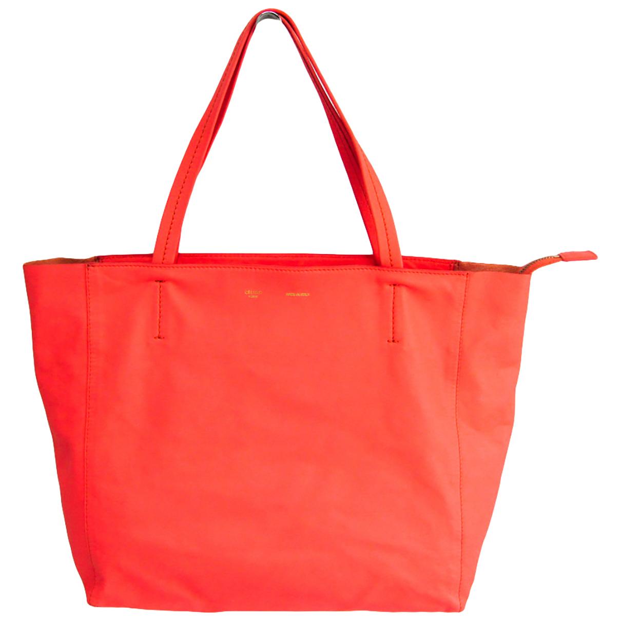 Celine N Orange Leather handbag for Women N