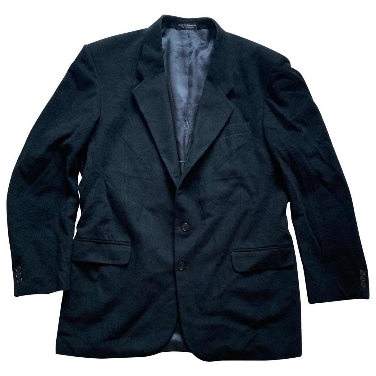 Non Signé / Unsigned \N Black Cashmere jacket  for Men XL International