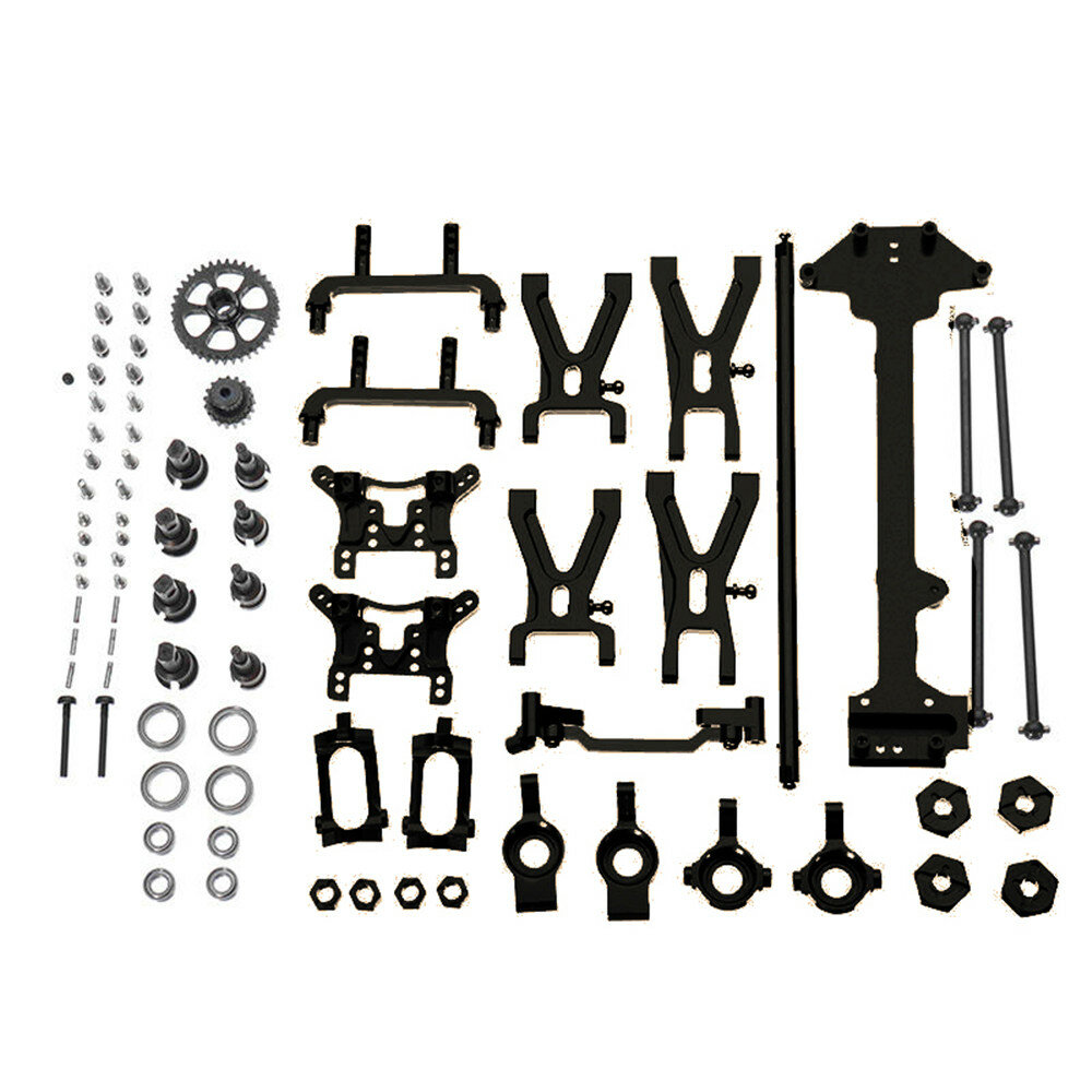 URUAV PY01 For WLtoys 1:18 A949 A959 A969 A979 K929 Upgraded Metal Parts Kit RC Vehicles Model RC Car Parts