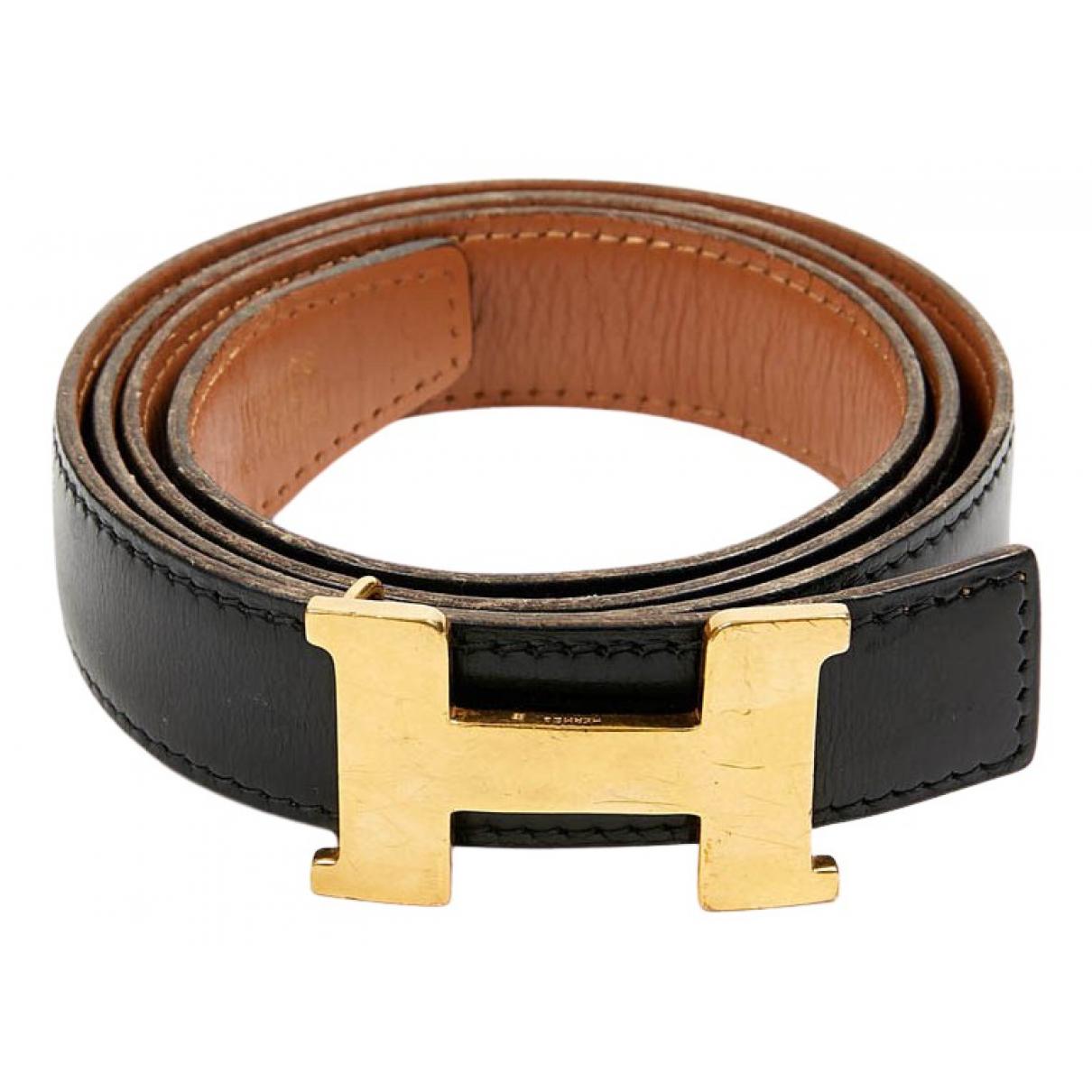 Cinturon H de Cuero Hermes