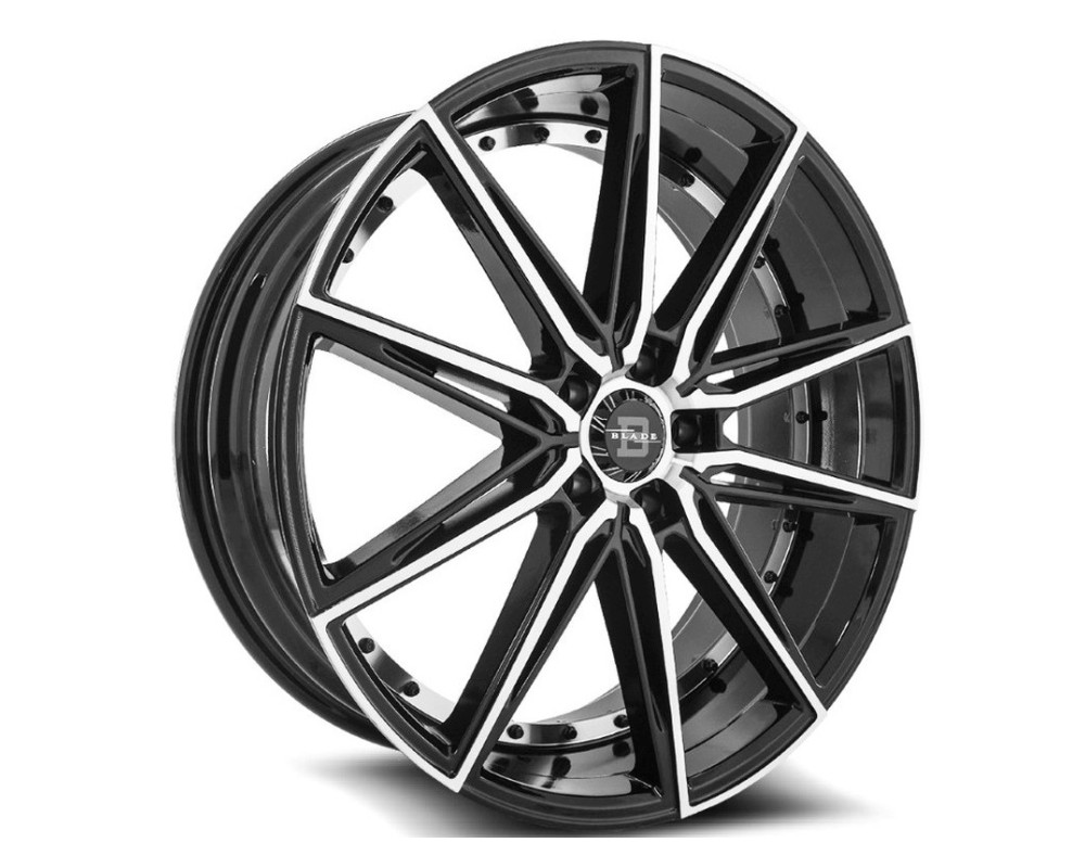 Blade BRVT-459 Barrett Wheel 20x8.5 5x114.3 35mm Black Machined