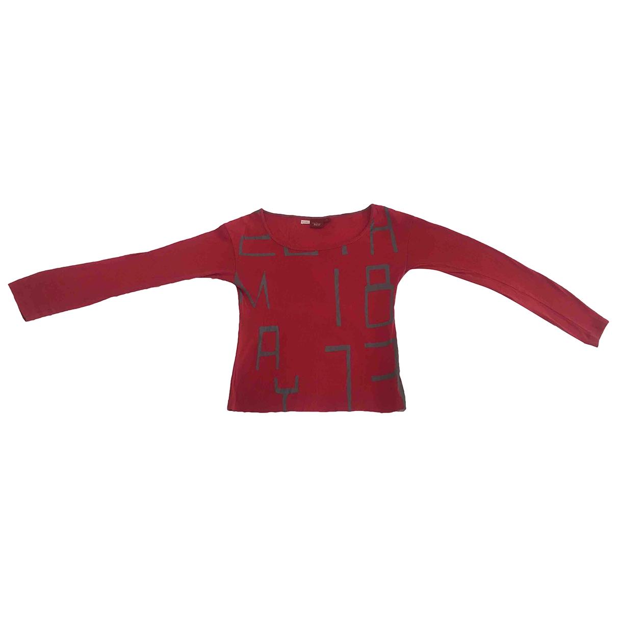 Levis - Top   pour femme en coton - rouge