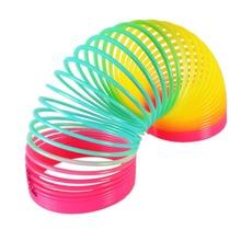 1pc Random Color Rainbow Circle Spring