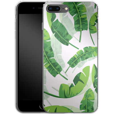 Apple iPhone 8 Plus Silikon Handyhuelle - Banana Leaf von Mukta Lata Barua
