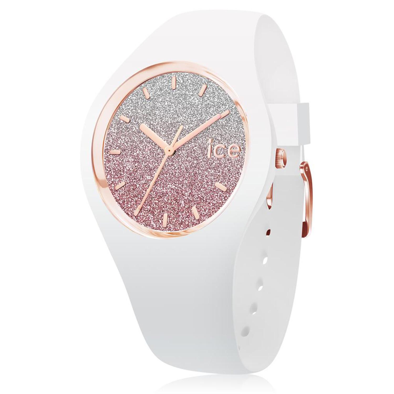 Ice-Watch Womens Lo 013431 White Silicone Quartz Fashion Watch